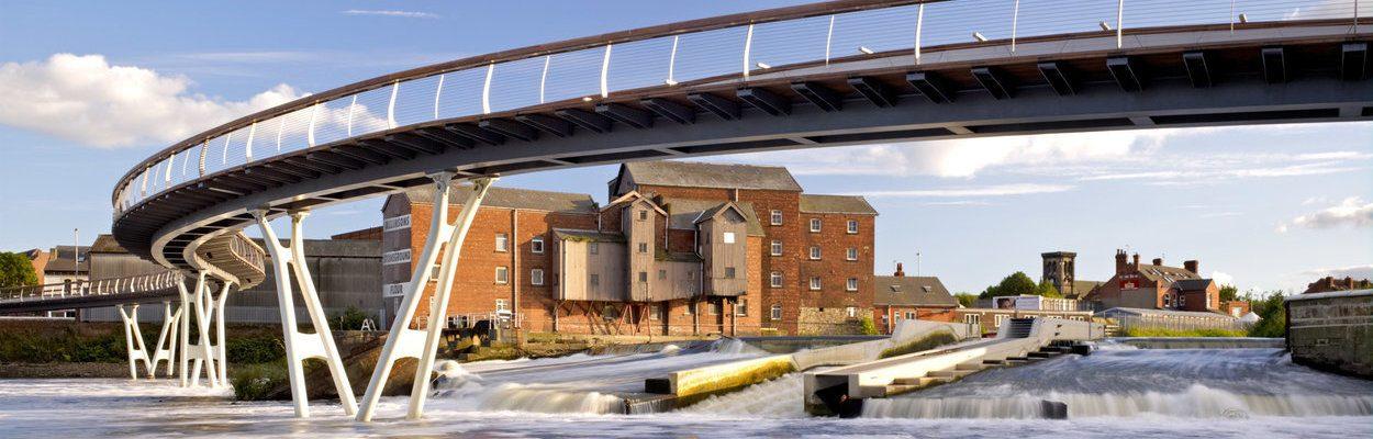 Castleford Bridge West Yorkshire