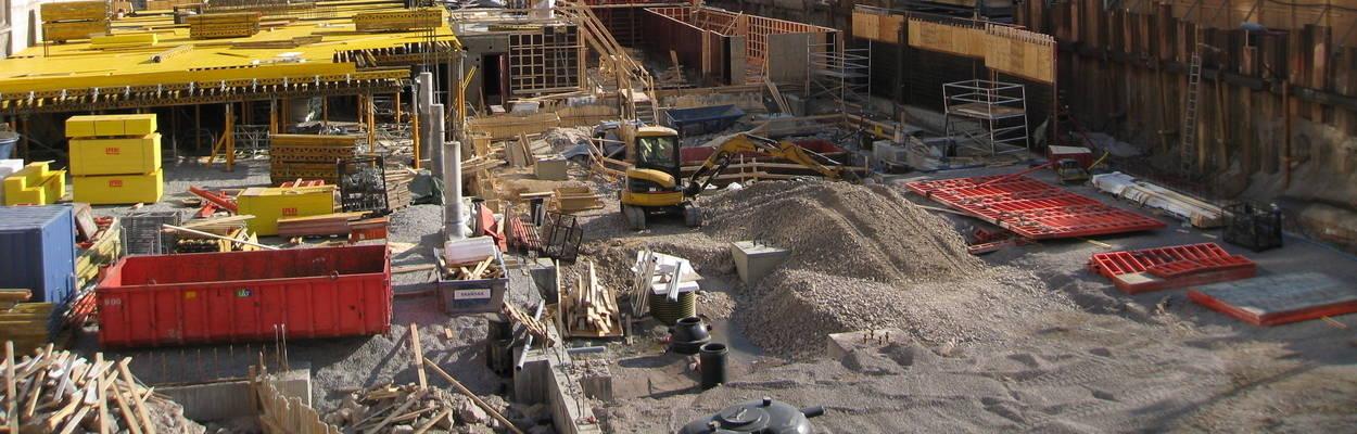 Construction Site Yorkshire
